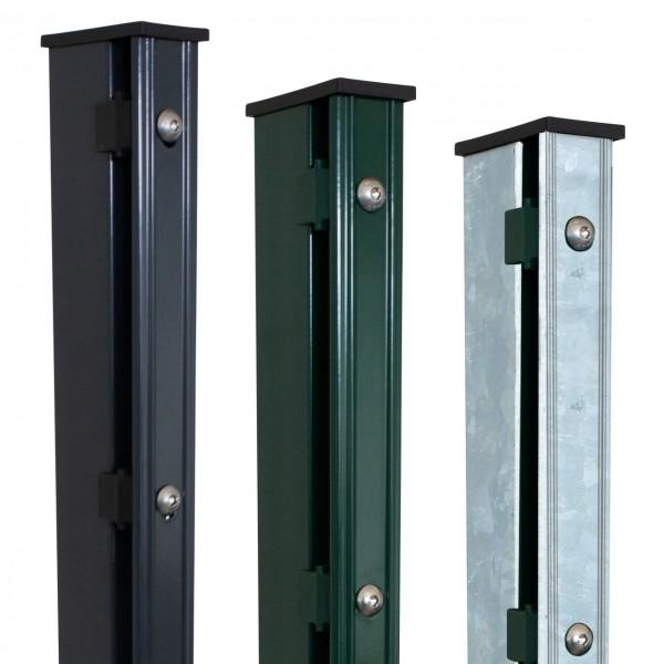 "Zaunpfosten Typ ""Multi-Premium""   Höhe: 1830mm   60x40mm inkl. Kunststoffkappe"