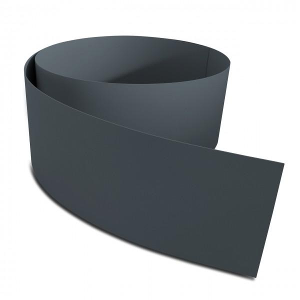 Sichtschutz Premium PVC | anthrazitgrau RAL7016 | 2525x190mm